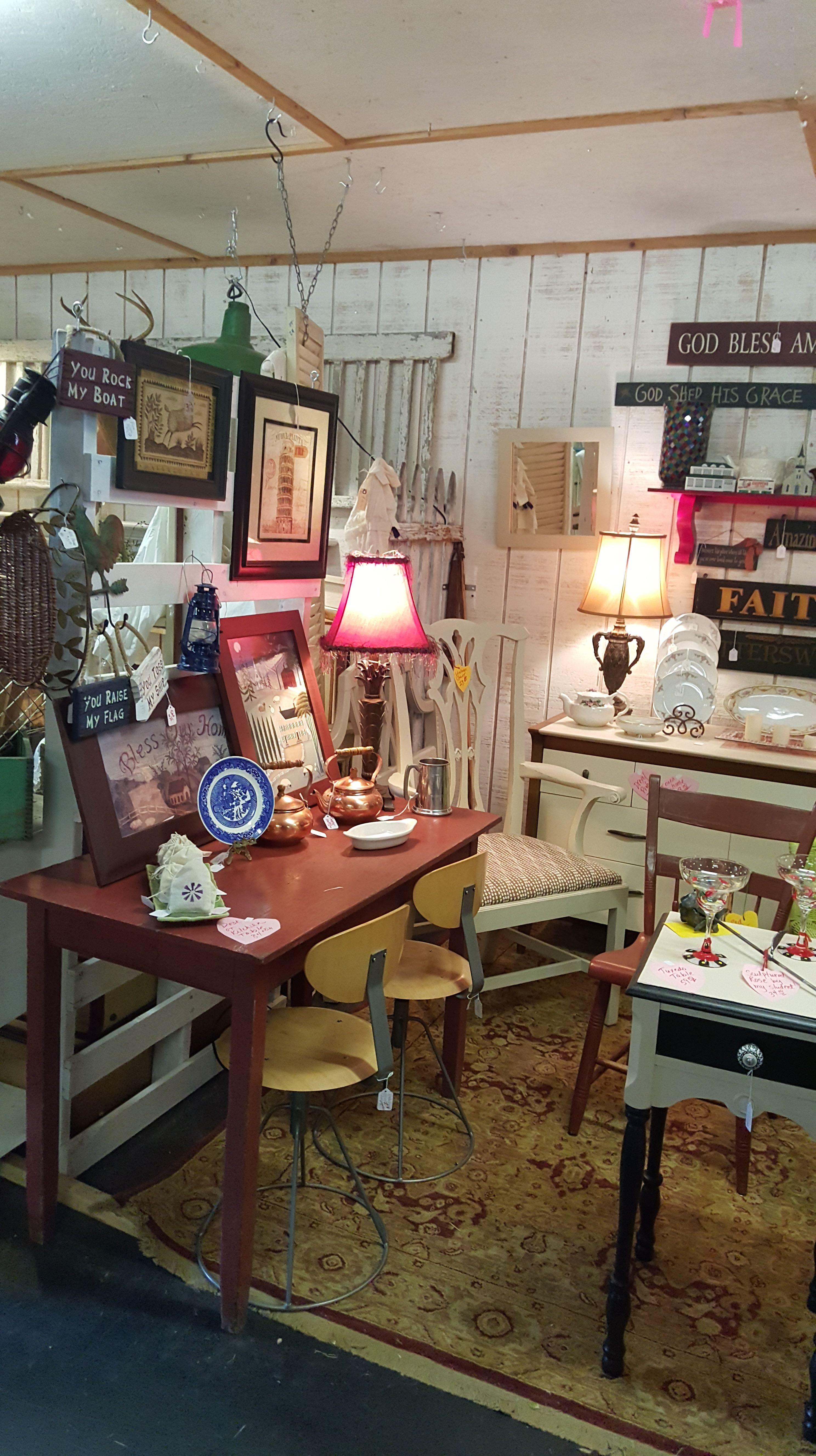 Lots Of Markdowns at Fab Finds and Designs.. Red desk