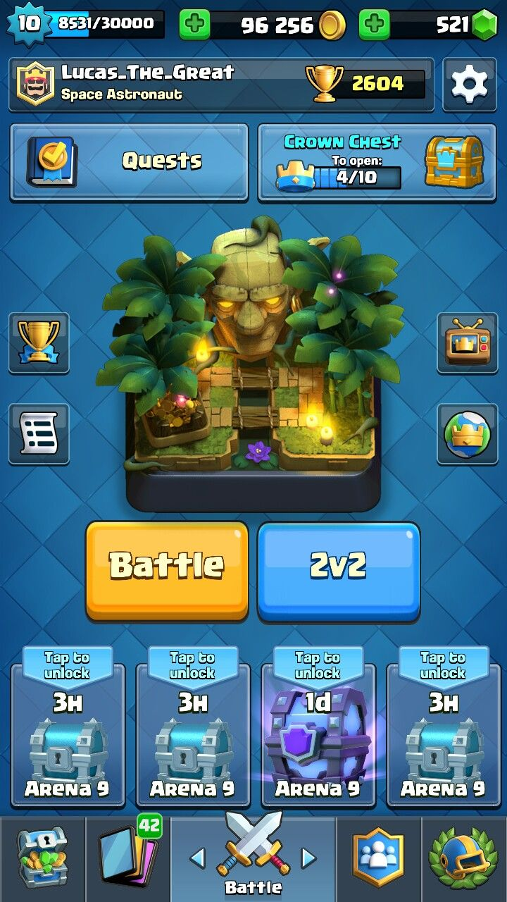 Wow first time winning Clash royale, Free gems, Clash of
