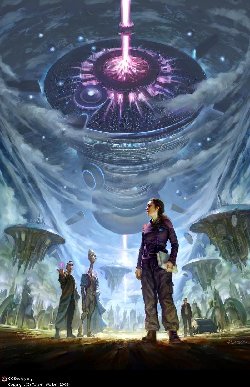 Axis city, Greg bear - Eon   sci fi book illustrations ...