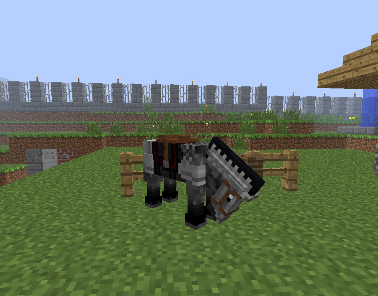 How To Tame A Horse In Minecraft Minecraft Horse Minecraft Minecraft Mods