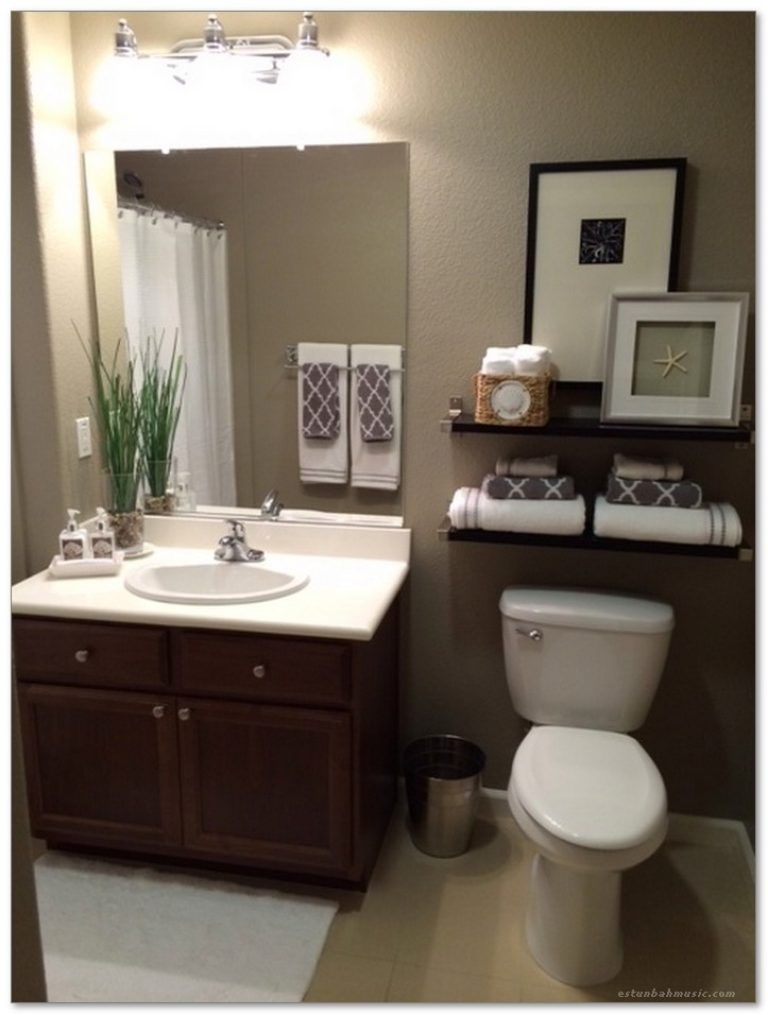 modern bathroom makeovers on a budget | 99+ Small Master Bathroom Makeover Ideas on a Budget 81 ...