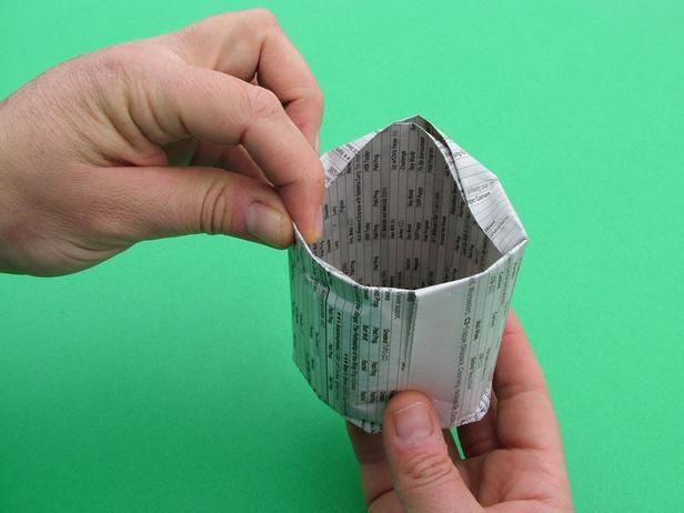 Como fazer potinhos de jornal para germinar sementes