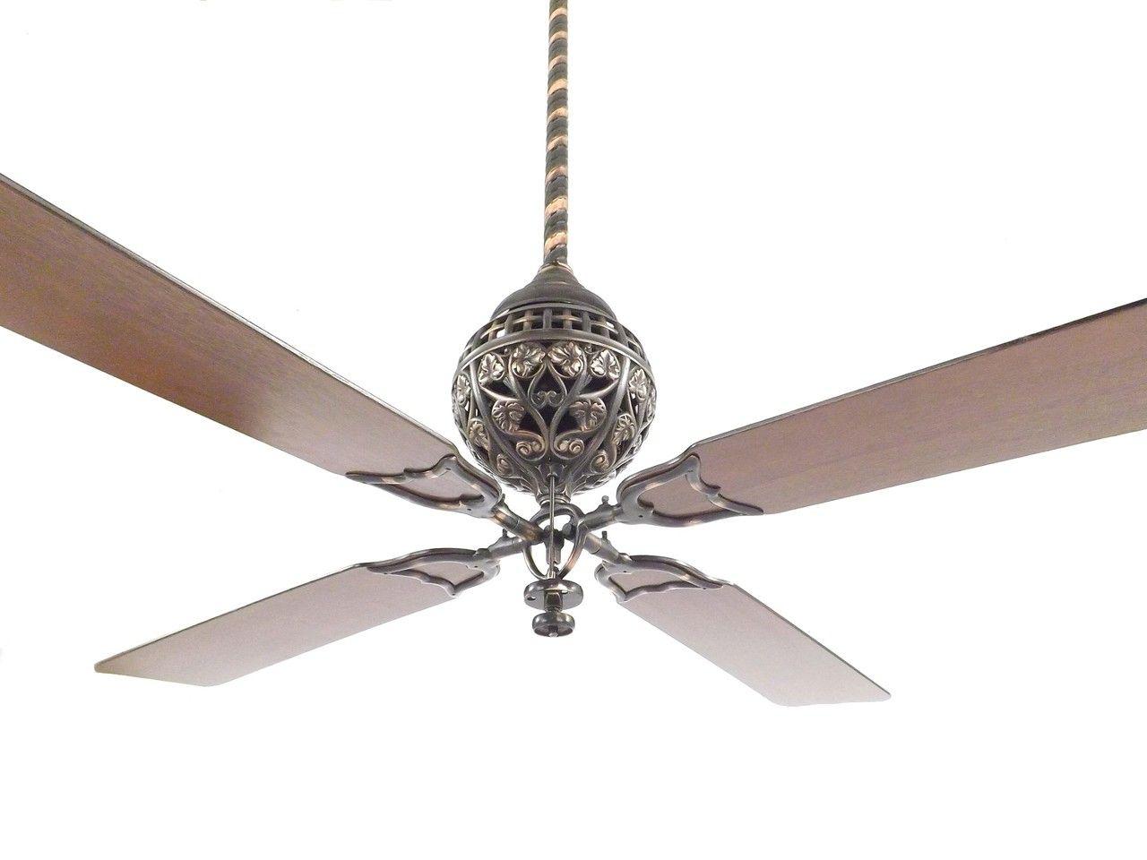 Restored 1898 Hunter Tuerk 4 Blade Ceiling Fan In 2020 Ceiling Fan Ceiling Fans For Sale Fan