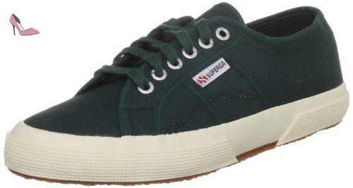 Superga 2754 Cotu, Sneakers Hautes mixte adulte-Bleu 44 EU