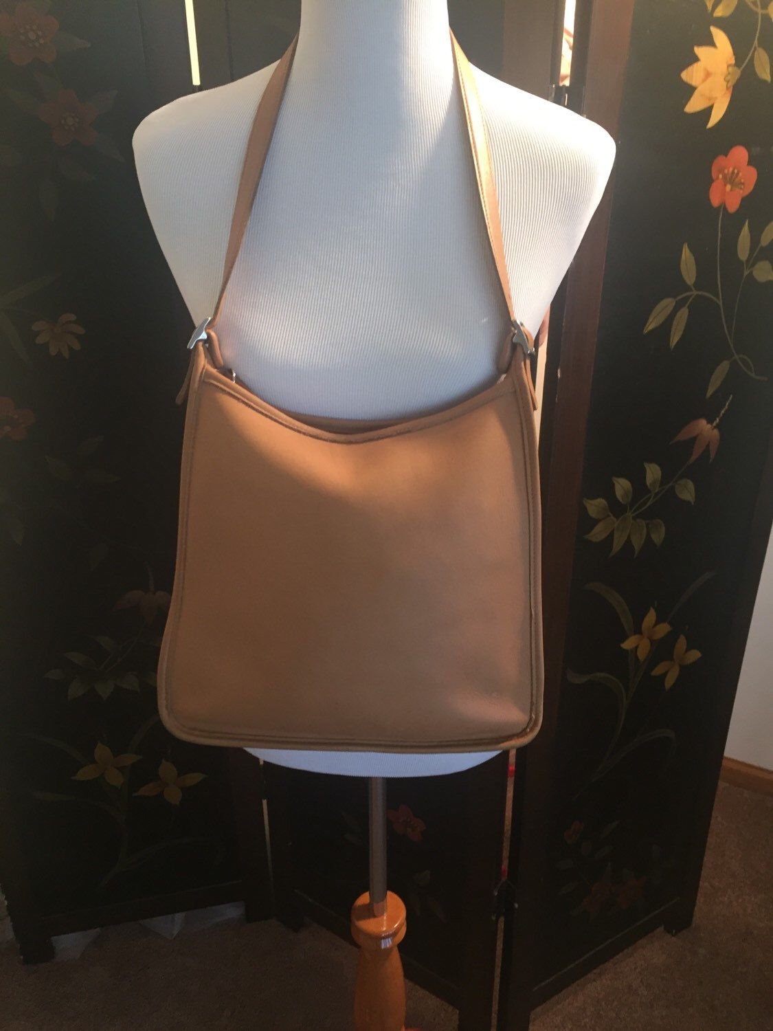 A personal favorite from my Etsy shop https://www.etsy.com/listing/255199132/vintage-leather-tan-classic-coach
