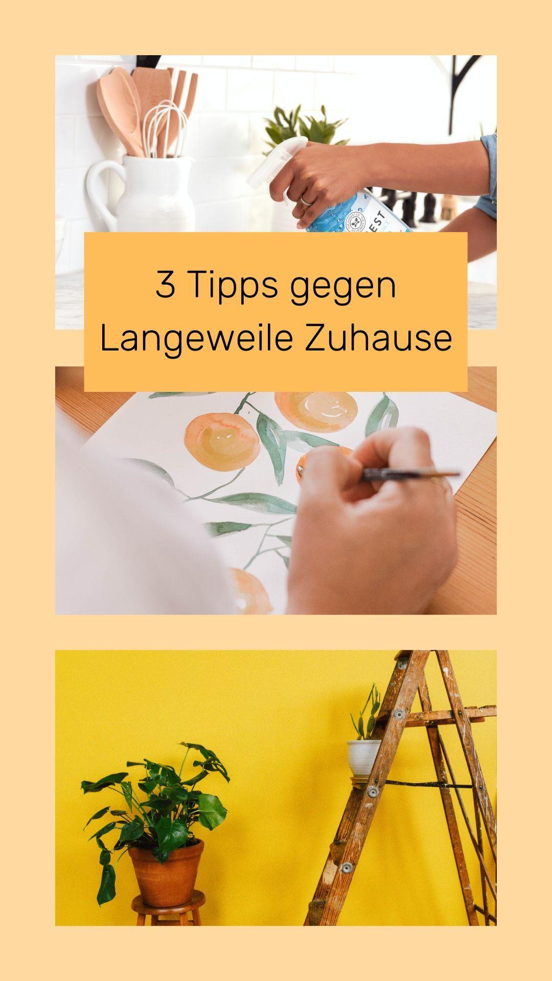 3 Tipps gegen Langeweile Zuhause in 2020 | Tipps gegen