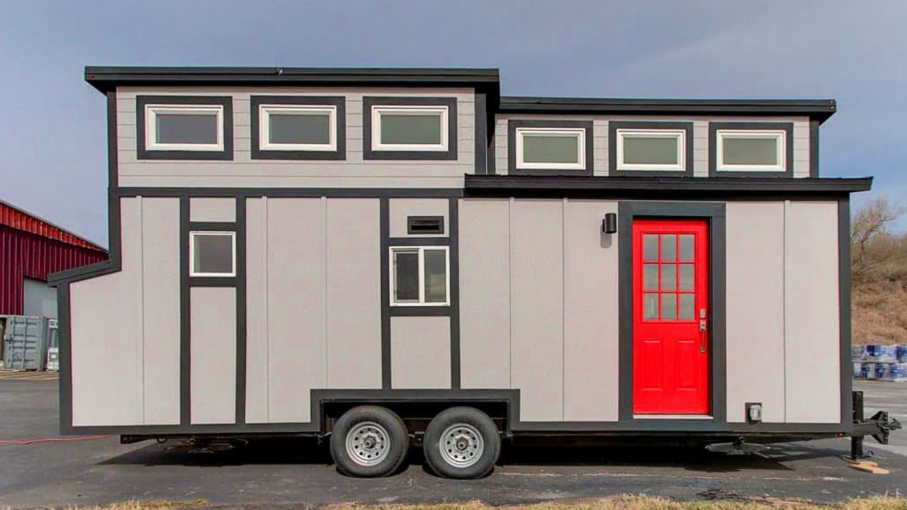 Fully Furnished Luxury Tiny House On Wheels For Sale Under 70k