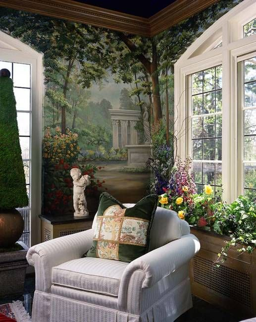 Marvelous Art Painting And Wall Murals Are Exclusive Trends In Home Decorating.  Colorful Painting Ideas And Idea