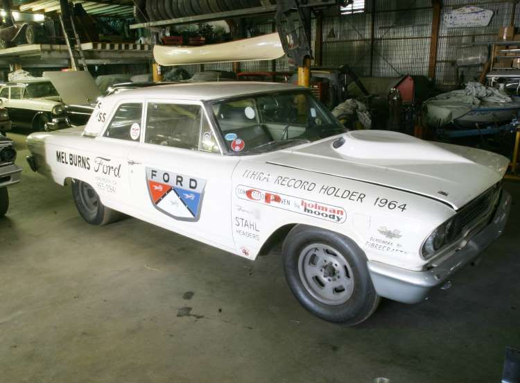 The Mel Burns Ford Custom 300 Originally Ran In D Stock With A 352