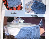 Denim Circle Rag Quilt PATTERN REVISED use your Recycled Denim Jeans. $10.00, via Etsy.