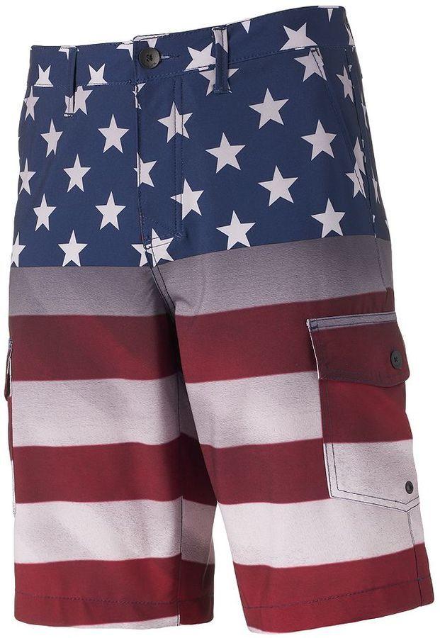 7fb62632b51f8 4th Of July · Men's Tony Hawk® American Flag Cargo Shorts.  https://api.shopstyle