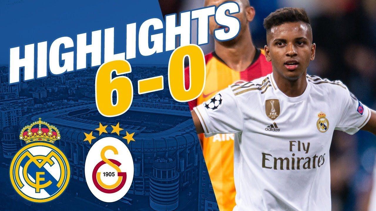 GOLES Y RESUMEN Real Madrid 60 Galatasaray Deportes