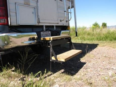 Truck Camper Steps That Fold Up Truck Camper Ideas