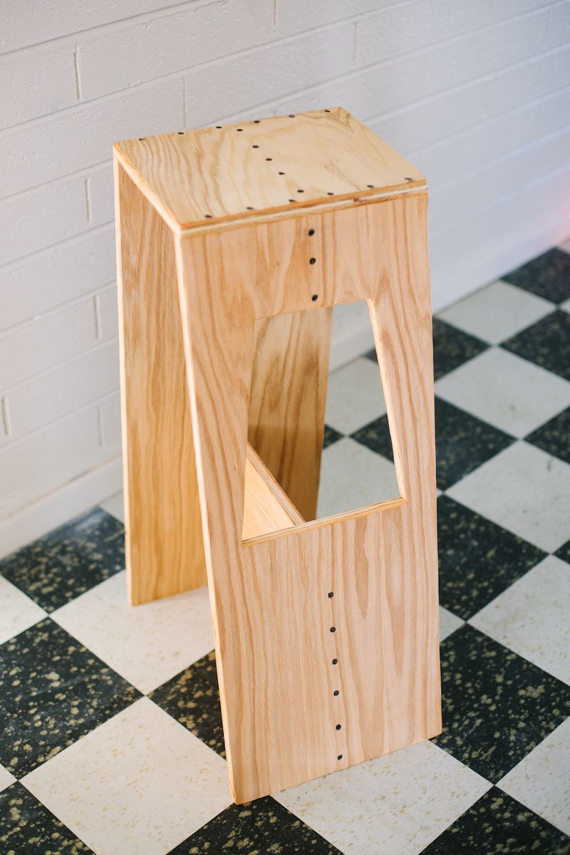 Subtletakeover Stool From Abeautifulmess Blogspot Com Made From