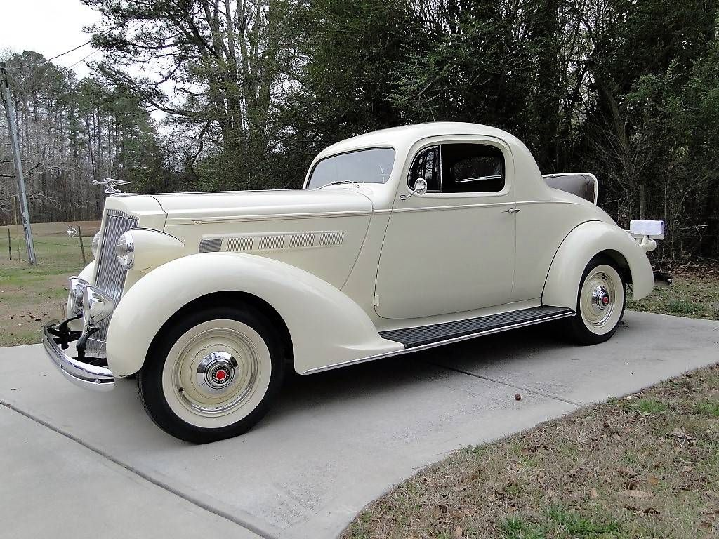 Packard 1936 120 rumble seat coupe
