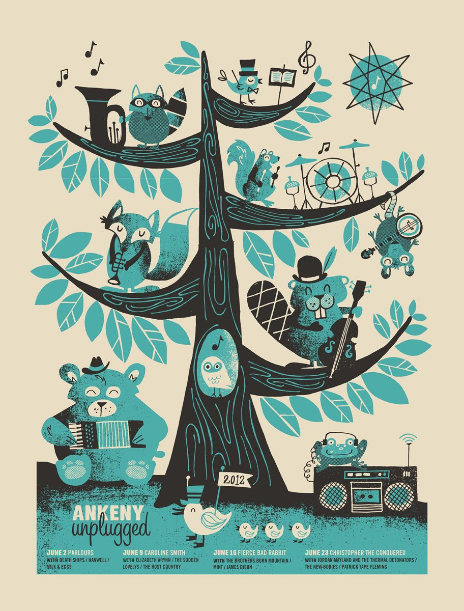 Ankeny Unplugged Poster by Basemint $10 #poster #walls #art