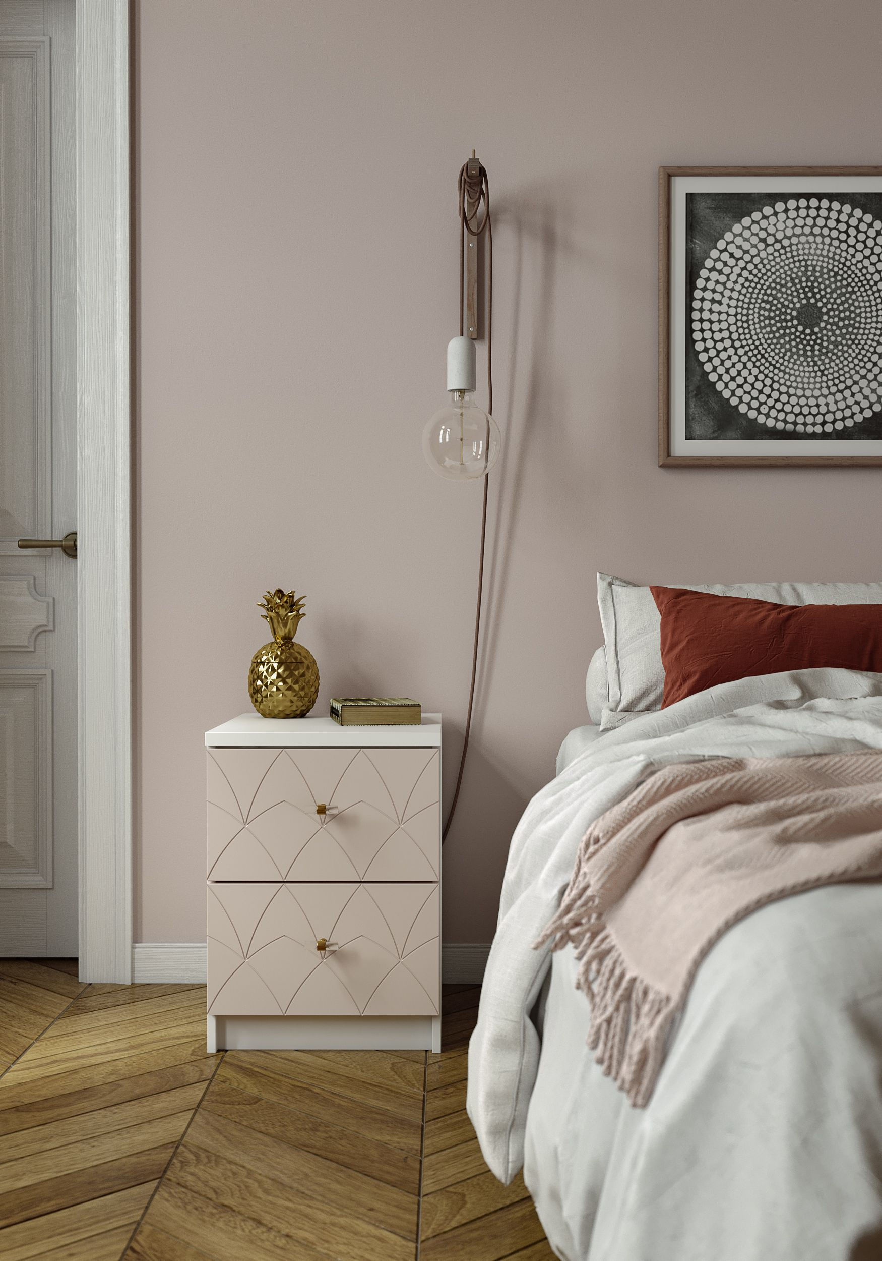 Joan Drawer Front With Images Ikea Malm Nightstand Ikea Malm