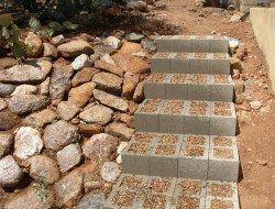 Cinder Block Projects Cinder Block Garden Outdoor Stairs Garden Stairs