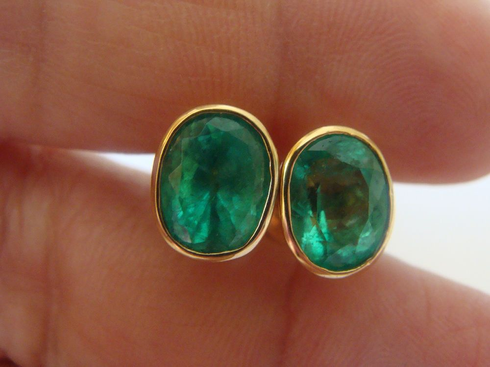 faceted stone emerald round aaa product grade