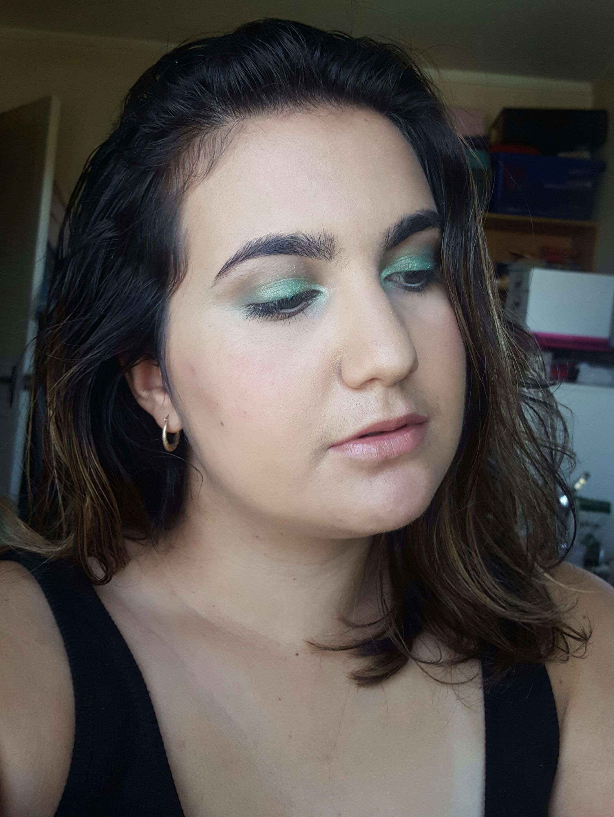 Inspired By Lordes New Song Green Light A Green Eyeshadow Look