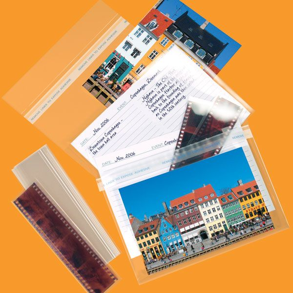 Picture View Photo Storage Envelopes For Prints Negatives From