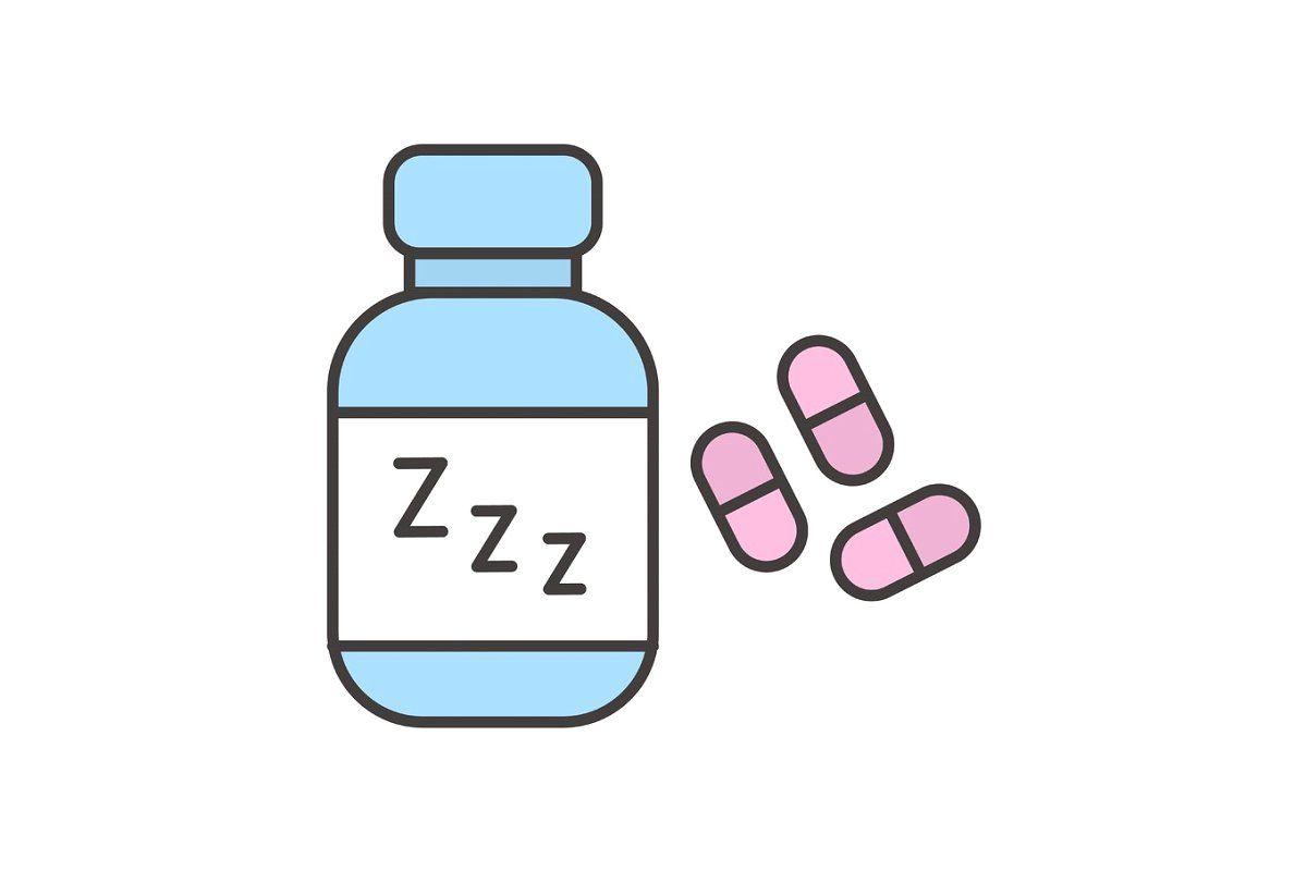 Sleeping Pills Color Icon Desenhos De Chibi Adesivos Sticker Cenario Para Videos