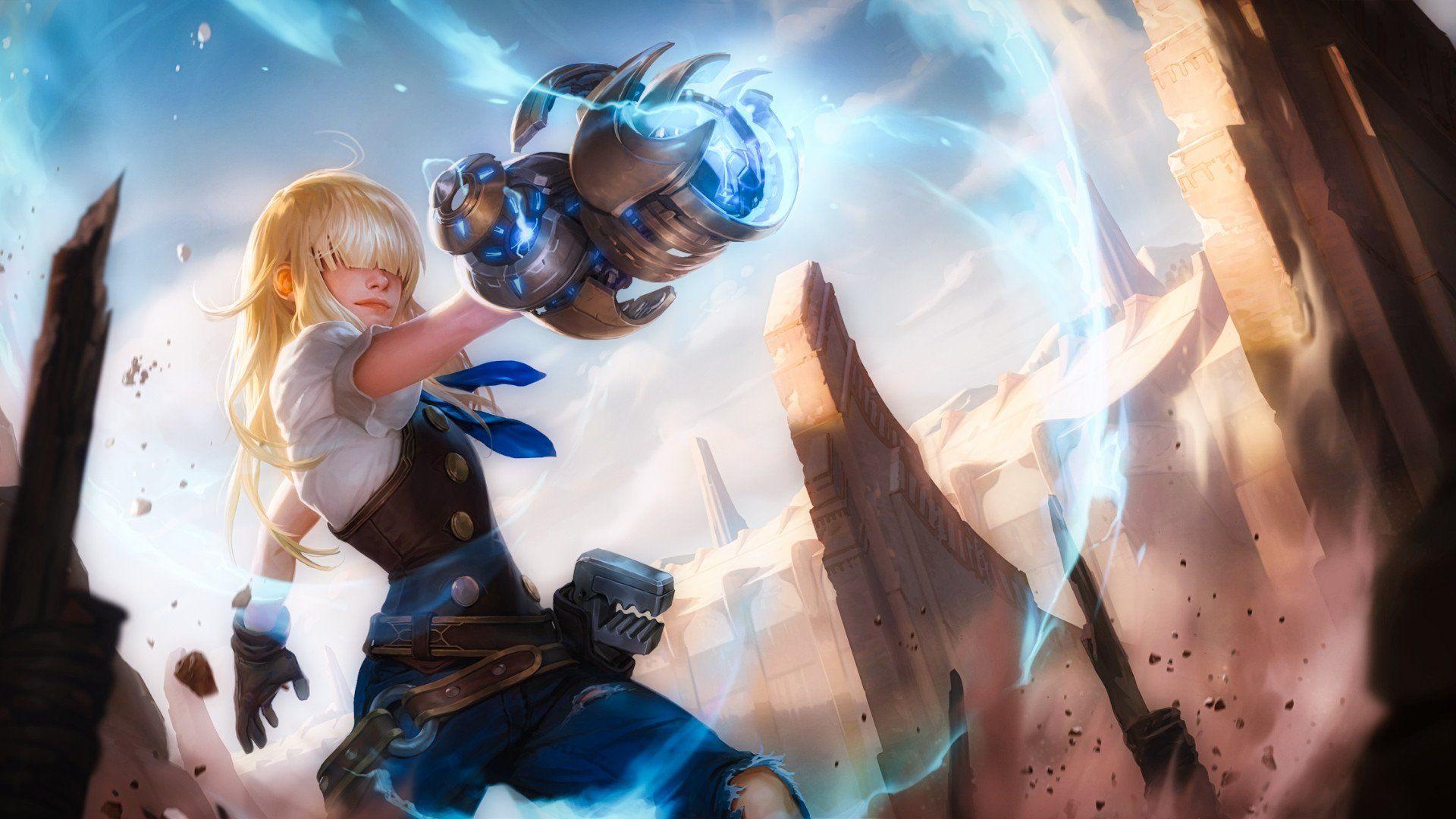 Legends Of Runeterra Wallpapers L2pbomb Character Art Desktop Wallpaper Illustration