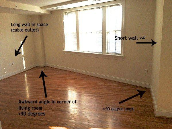 Best Making An Awkward Shaped Living Room Work Awkward Living 640 x 480
