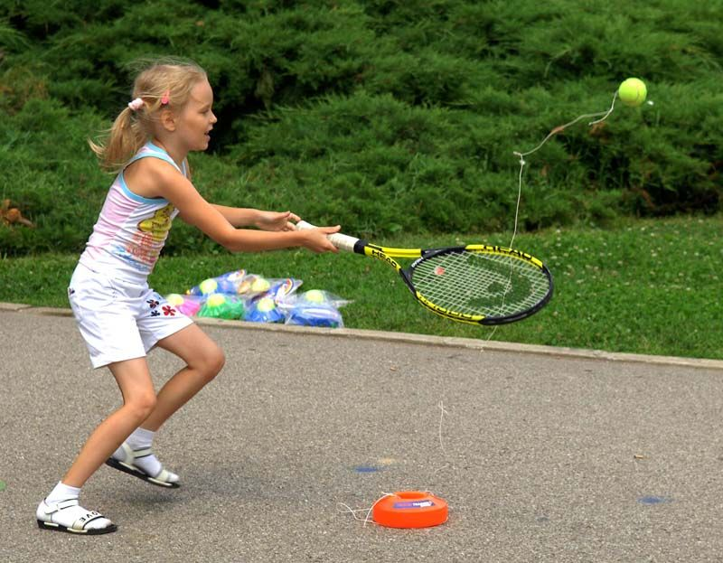 Tennis Trainer Practice Tennis Without A Partner