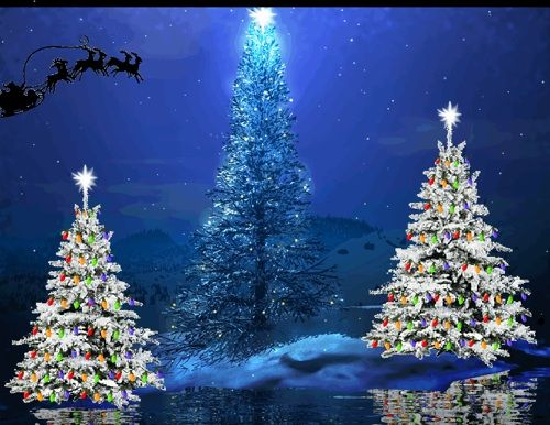images of animated christmas wallpaper Free Christmas Wallpaper