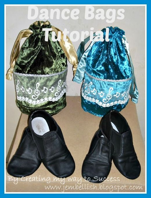 Creating my way to Success: Dance bags