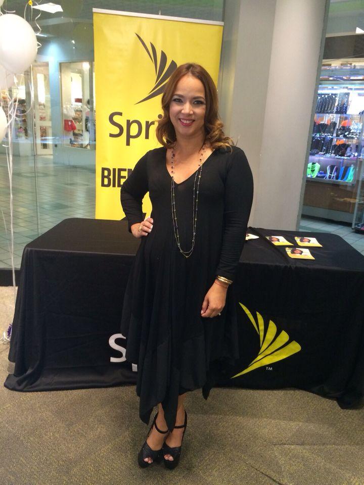 Mi Look del día desde Puerto Rico para compartir con todos en los instore de #Sprint   #fashion #black #moda #girl #woman #pregnancy #maternity