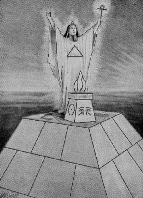 Lost Keys Of Freemasonry 1976 The Original Photo Is Found Opposite P 52 Of Hall S Book Onp 48 Hall Confirms When With Images Freemasonry Book Of Shadows Lost Keys