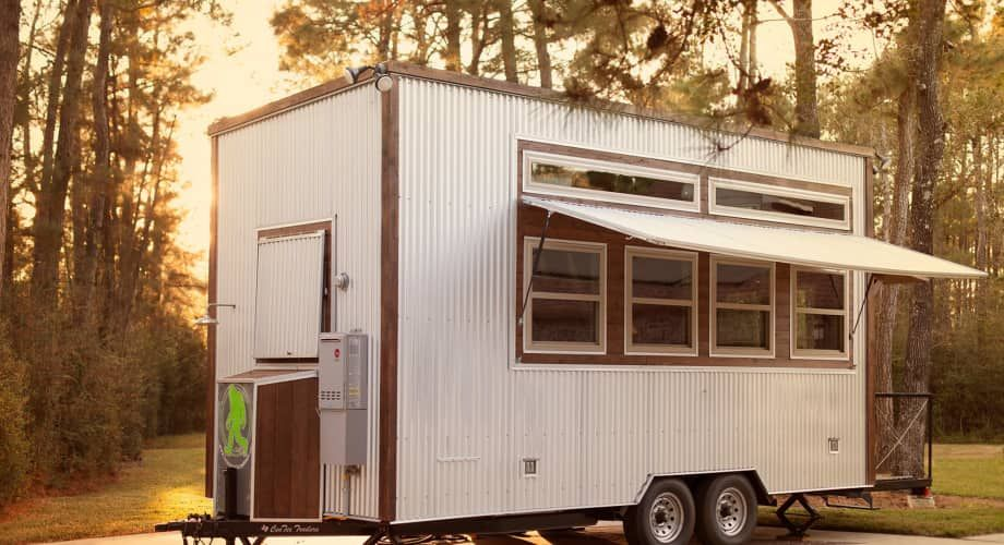 OneofaKind HandCrafted Tiny Home Tiny House Trailer