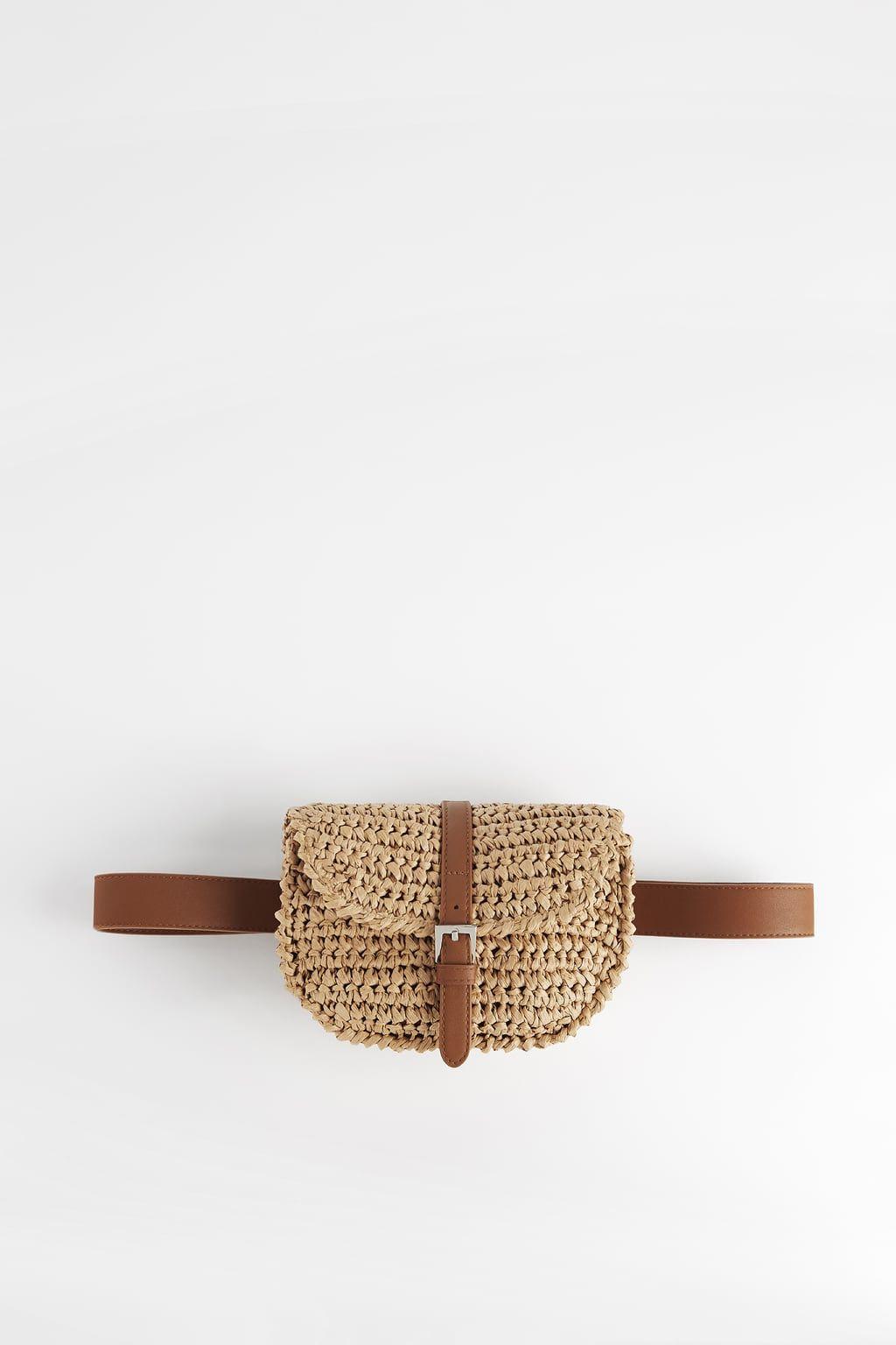 BRAIDED BELT BAG #crochetbraids