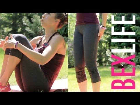 Tabata Workout - HOT ABS in 4 Minutes : Work It Out Wednesday - Bex Life #fitfluential @rebekahborucki
