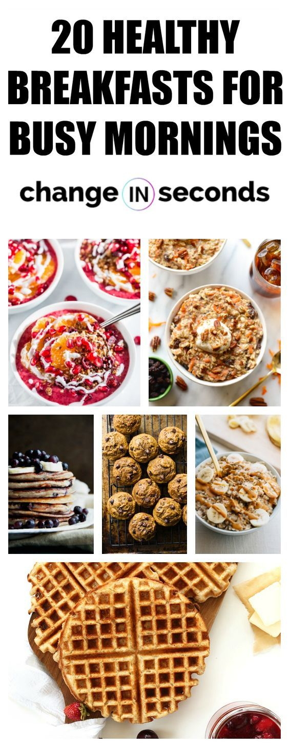 20 Healthy Breakfast Recipes You Will Want To Eat Every Day images