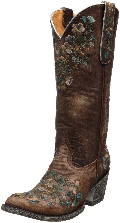AmazonSmile: Old Gringo Women's Sora Boot,Brass,6.5 M US: Shoes