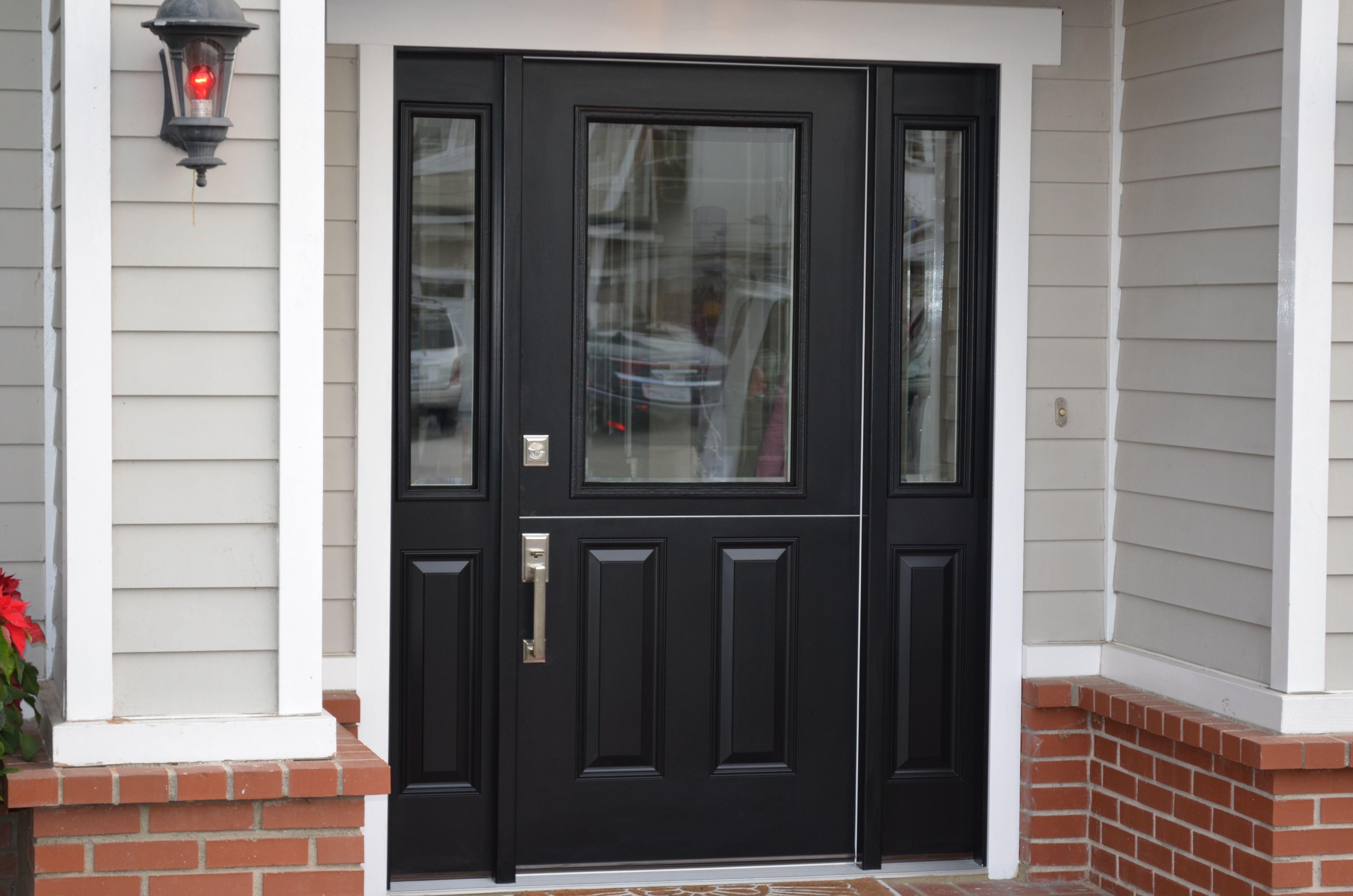 Front door with sidelites m6410 103010 ct 4irh the home depot - Dutch Door With Side Lights