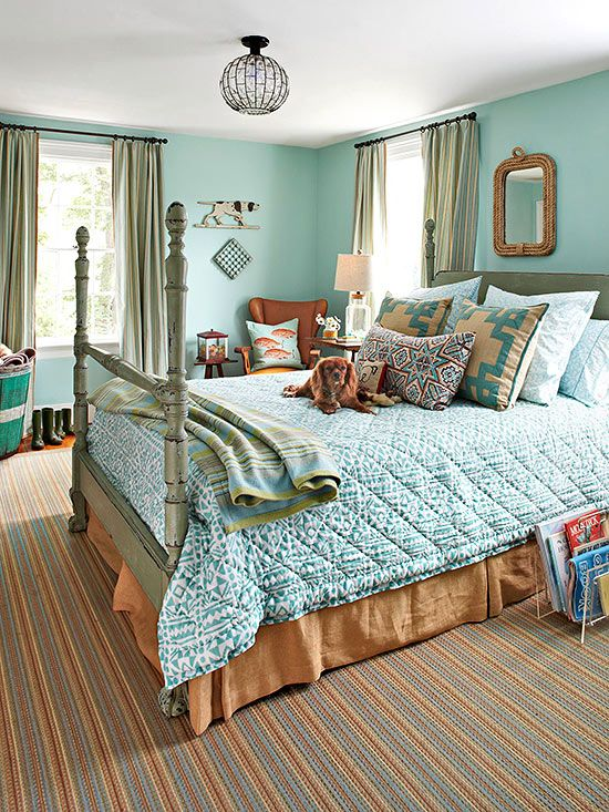 What Colors Go with Blue?   Pinterest   Schlafzimmer, Petrol und Mint
