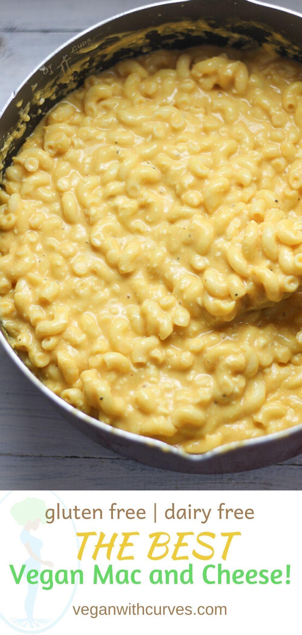 The Best Dairy Free Mac And Cheese Vegan Plus Gluten Free Recipe In 2020 Dairy Free Mac And Cheese Dairy Free Mac And Cheese