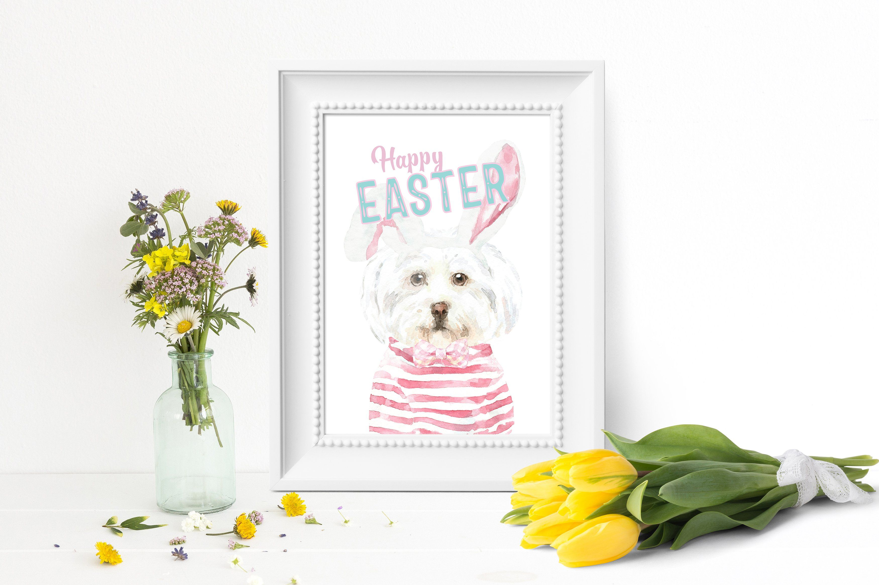 Watercolor Dog Clipart Watercolor Dog Breed Character Creator