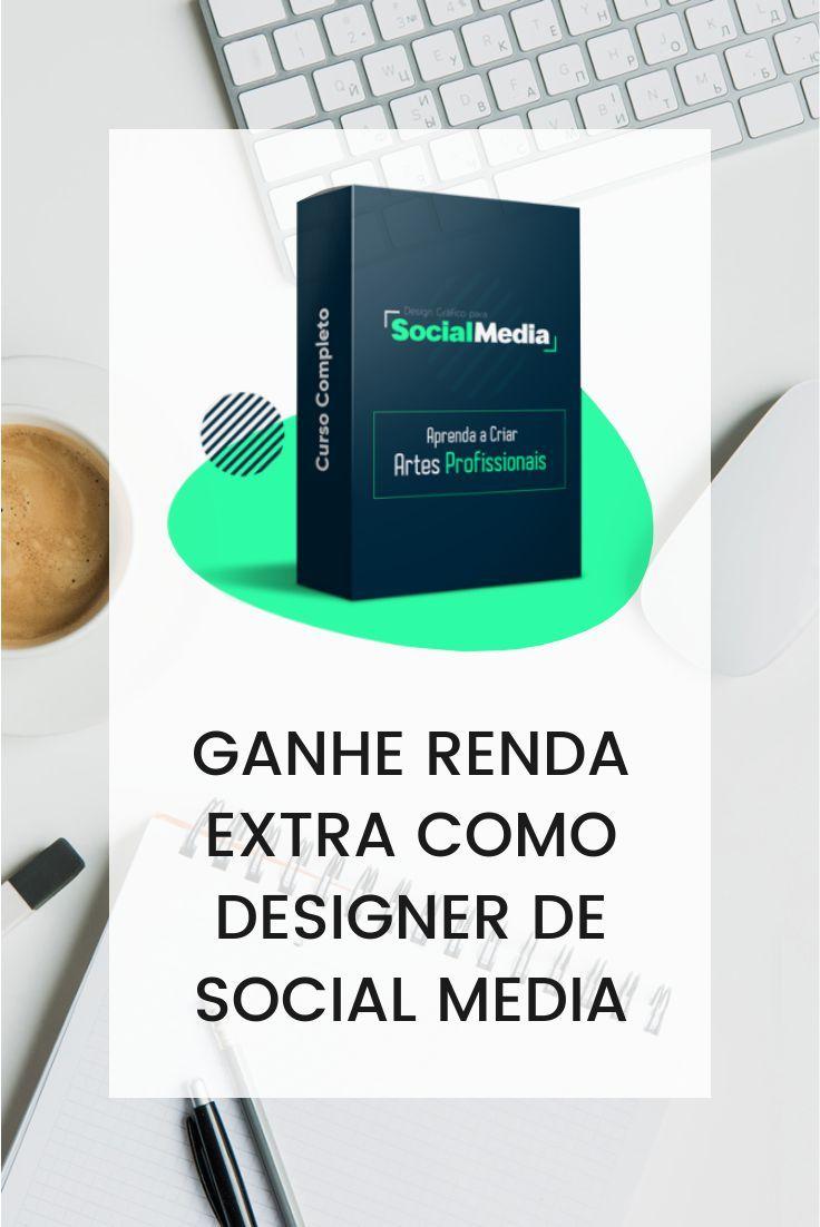 Ganhe Renda Extra com [ Design Gráfico para Social Media ]