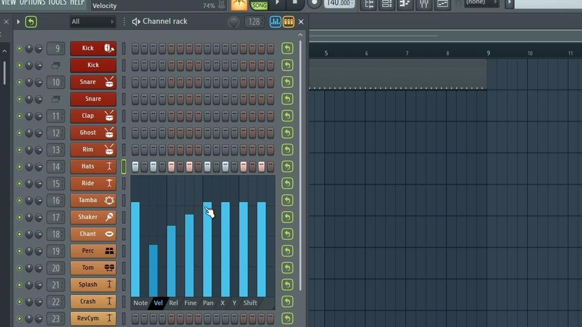 Fl Studio Tip Using The Graph Editor In The Channel Rack Graphing Studio Tips