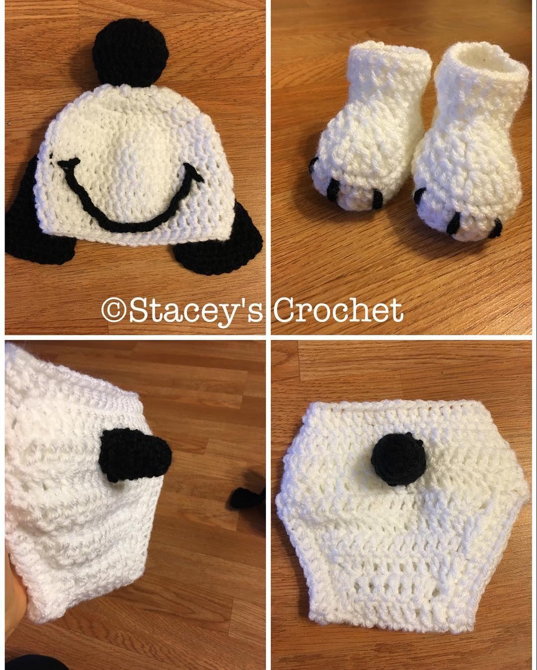 staceysrz Newborn snoopy outfit! #Crochet #CrochetersOfInstagram ...