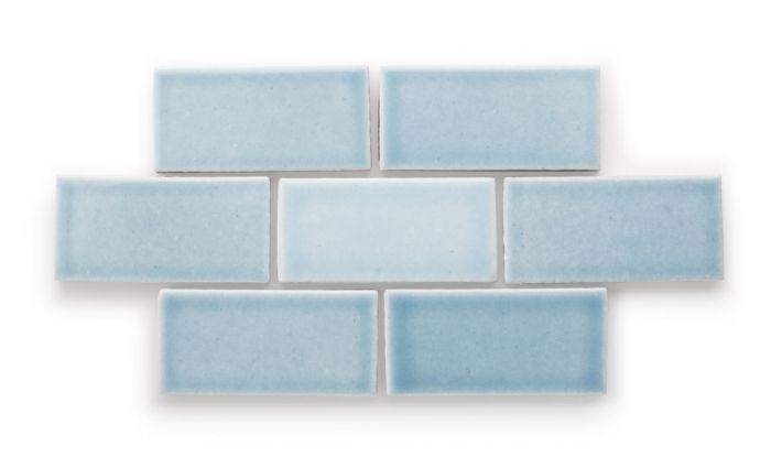 Crater Lake Eco Friendly Handmade Ceramic Tile Fireclay Tile Handmade Ceramic Tiles Fireclay Tile Ceramic Tiles