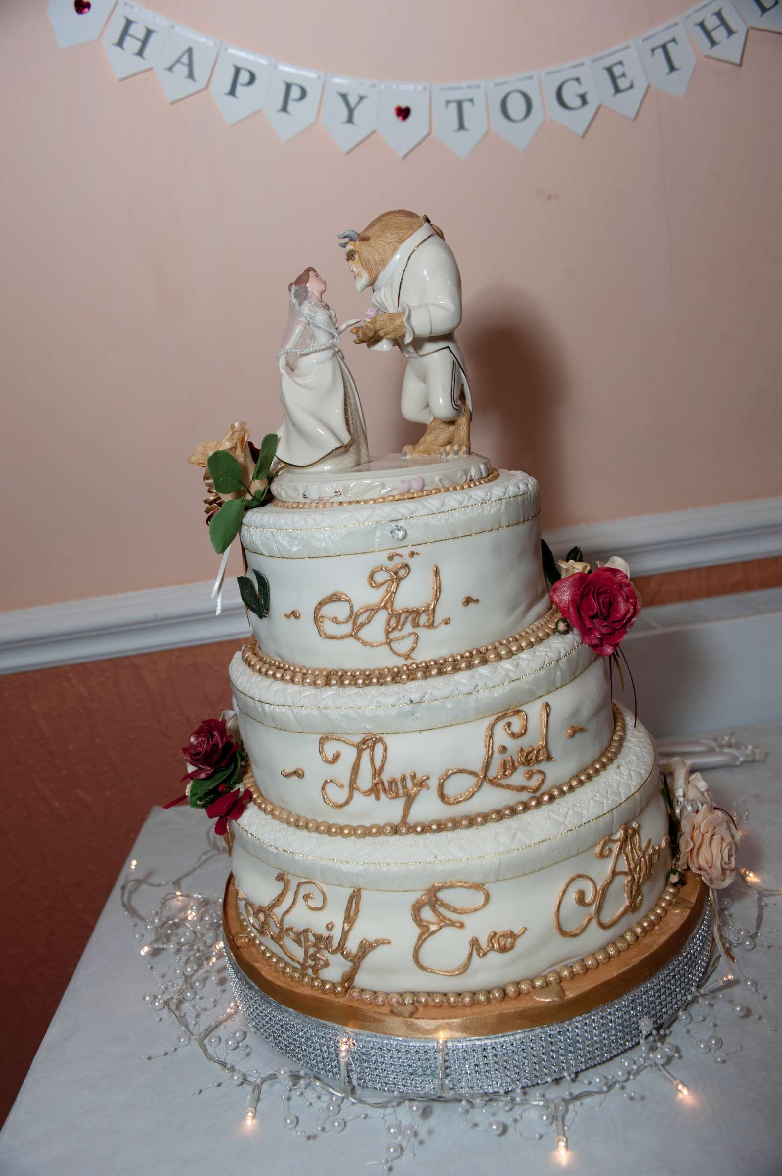 beauty and the beast wedding - Google Search | Wedding cakes ...