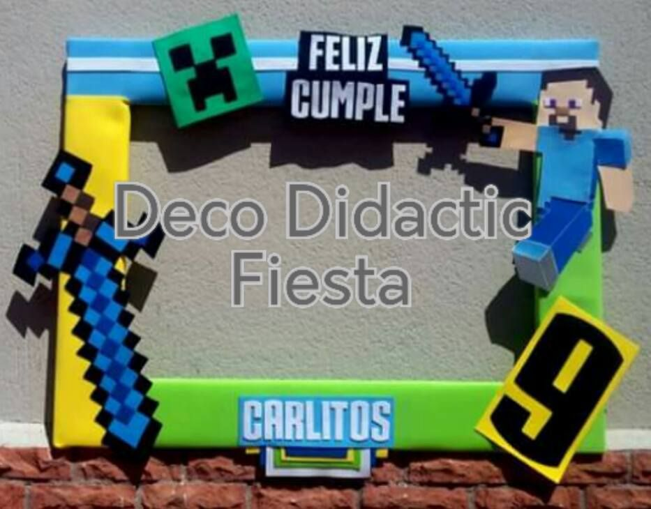 Minecraft, marco para foto | Marcos para foto / Photo frames ...