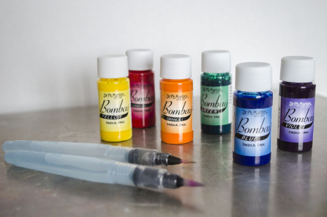 Dr Ph Martins Bombay Ink Product Review She Explains Tips On How