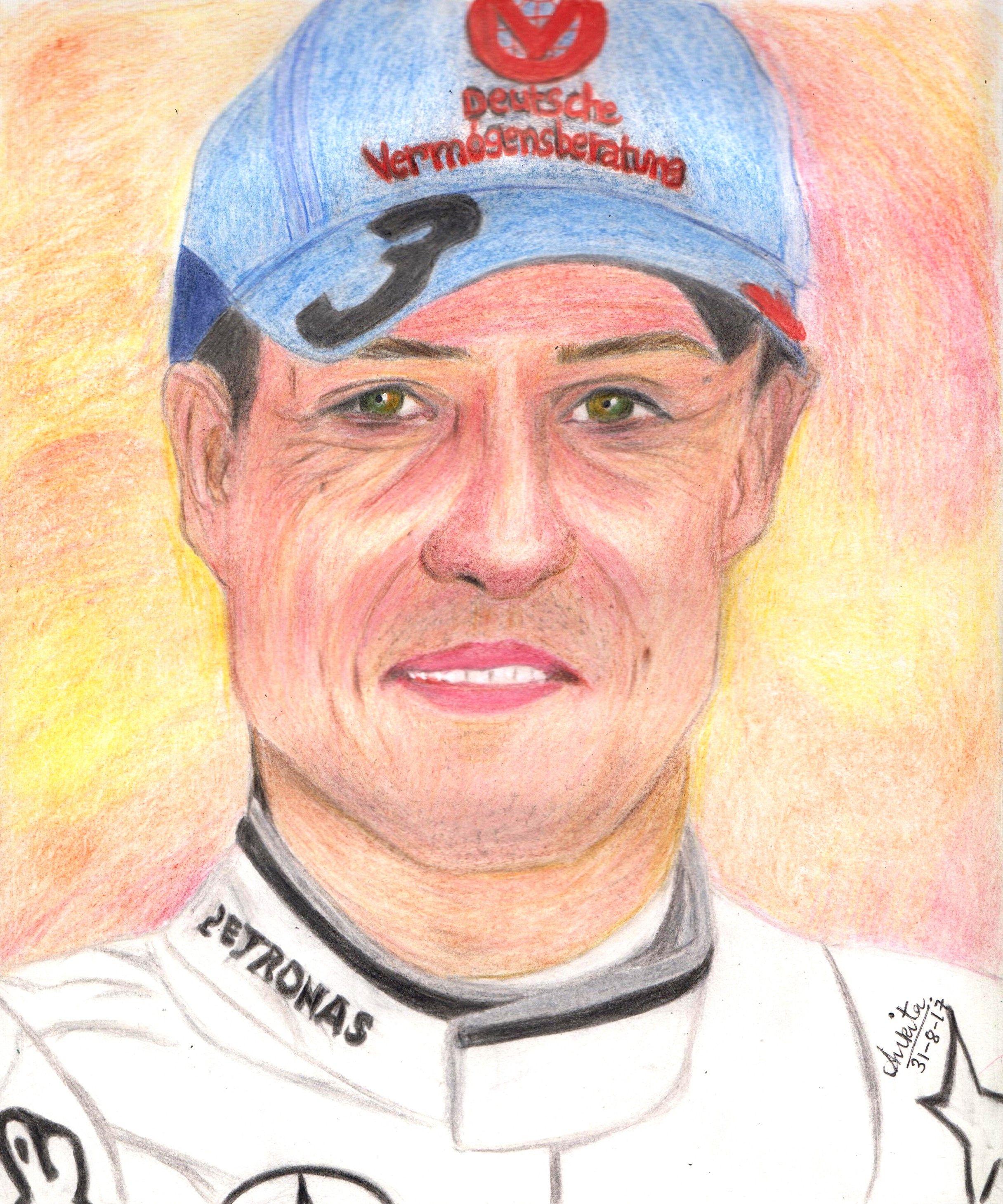 Wishing Michael Schumacher a speedy recovery
